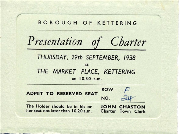 Photo: Illustrative image for the 'Charter Day 1938' page