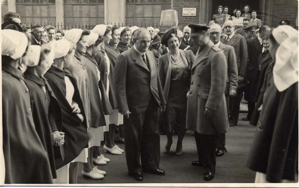 Photo: Illustrative image for the 'Visit of King George VI and Queen Elizabeth' page