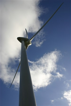 Photo: Illustrative image for the 'Burton Wold wind farm' page
